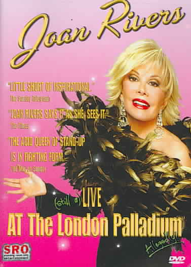 JOAN RIVERS:LIVE AT THE LONDON PALLAD BY RIVERS,JOAN (DVD)