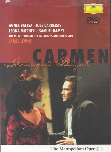 BIZET:CARMEN BY BALTSA/CARRERAS/MET (DVD)