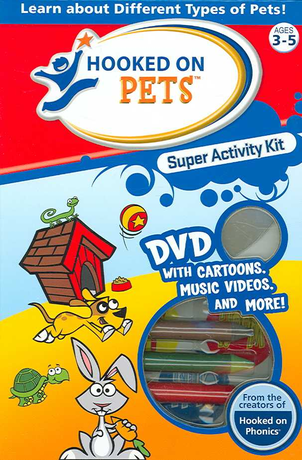 HOOKED ON PETS SUPER ACTIVITY KIT (DVD)
